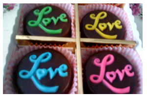 Gambar Coklat Homemade Love